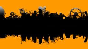Città meccanica royalty illustrazione gratis