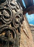 Città medievale Immagine Stock