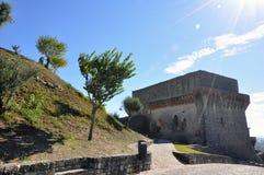 Città medievale del castello di Orem, Portogallo Fotografie Stock Libere da Diritti