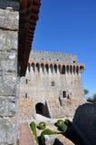 Città medievale del castello di Orem, Portogallo Fotografie Stock