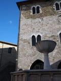 Città medievale di Bevagna in Italia centrale Fotografie Stock Libere da Diritti