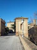 Città medievale di Bevagna in Italia centrale Immagini Stock