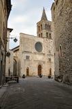 Città medievale di Bevagna in Italia centrale immagine stock libera da diritti