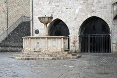 Città medievale di Bevagna in Italia centrale fotografia stock libera da diritti