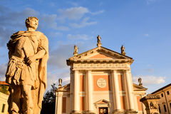 Città medievale di Castelfranco Veneto Immagini Stock Libere da Diritti
