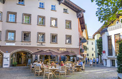 Città medievale di Kitzbuhel, Tirolo Immagini Stock
