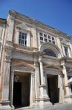 Città medievale di Offida in Italia centrale immagine stock