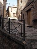 Città medievale di Sarnano in Italia Immagine Stock Libera da Diritti