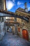 Città medievale in Europa Immagine Stock