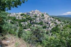 Città medievale Provenza Francia di Gordes Immagine Stock Libera da Diritti