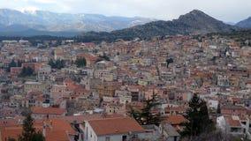 Città medioevale Immagini Stock Libere da Diritti