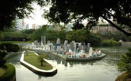 Città miniatura Immagine Stock