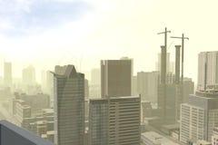 Città moderna Immagini Stock
