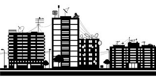 Città moderna Immagine Stock