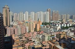 Città moderna di Shenzhen, Cina Immagine Stock