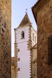 Città monumentale Estremadura Spagna di Caceres Immagini Stock Libere da Diritti