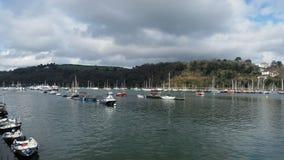 Città nautica Devon Regno Unito di Dartmouth Fotografia Stock Libera da Diritti