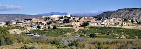 Città nel New Mexico fotografie stock