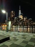 Città nella notte Immagine Stock