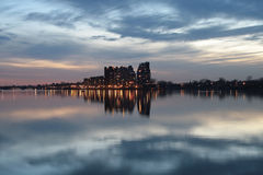 Città nella nube Fotografia Stock