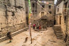 Città nepalese Immagine Stock Libera da Diritti