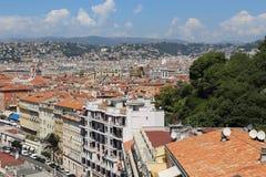Città Nizza Fotografia Stock Libera da Diritti