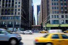 Città occupata fotografia stock