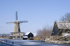 Città olandese Fotografia Stock Libera da Diritti