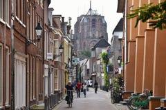 Città olandese di Leeuwarden Immagine Stock Libera da Diritti