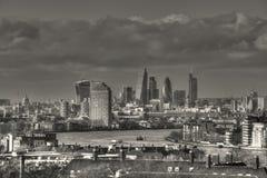 Città orientale di Londra Fotografia Stock Libera da Diritti