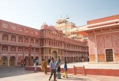 Città Palace Jaipur, India Fotografia Stock Libera da Diritti