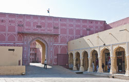 Città Palace Jaipur, India Fotografie Stock