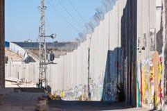 Città palestinese della Cisgiordania di Betlemme Fotografie Stock Libere da Diritti