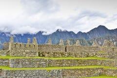 Città persa del Incasâ - il Machu Picchu (Perù) Fotografia Stock Libera da Diritti