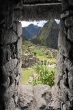 Città persa di Machu Picchu - il Perù Fotografia Stock Libera da Diritti