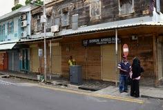 Città pittoresca di Port Louis in Mauritius Republic Immagini Stock Libere da Diritti