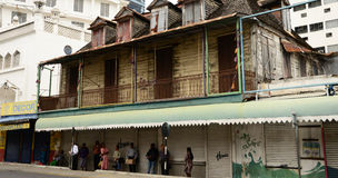 Città pittoresca di Port Louis in Mauritius Republic Fotografie Stock Libere da Diritti