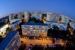 Città polacca Lodz, Polonia Immagine Stock Libera da Diritti