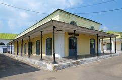 Città provinciale del museo di Kostroma nelle file di commercio di Kostroma, anello dorato della Russia Fotografia Stock Libera da Diritti