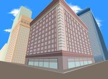 Città residenziale Immagine Stock