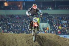 Città Riga, Lettonia, arena Riga, motocross del posto di Indor immagini stock