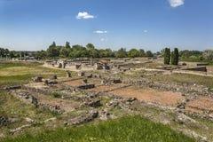 Città romana Gorsium Fotografia Stock Libera da Diritti