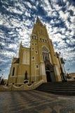 Città Santa Rita Do Passa Quatro, São Paulo, Brasile - città Santa Rita Do Passa Quatro, São Paulo, Brasile della cattedrale de fotografia stock libera da diritti