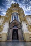 Città Santa Rita Do Passa Quatro, São Paulo, Brasile - città Santa Rita Do Passa Quatro, São Paulo, Brasile della cattedrale de fotografia stock