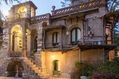 Città Scape di Taormina Fotografia Stock