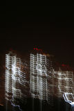 Città scheletriche e civilizzazione digitale fotografia stock