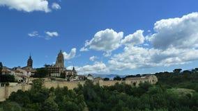 Città Segovia (Spagna) del patrimonio mondiale Fotografie Stock Libere da Diritti