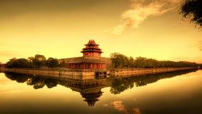 Città severa di Pechino Cina fotografia stock