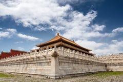 Città severa Pechino immagini stock