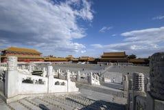 Città severa Pechino Immagini Stock Libere da Diritti